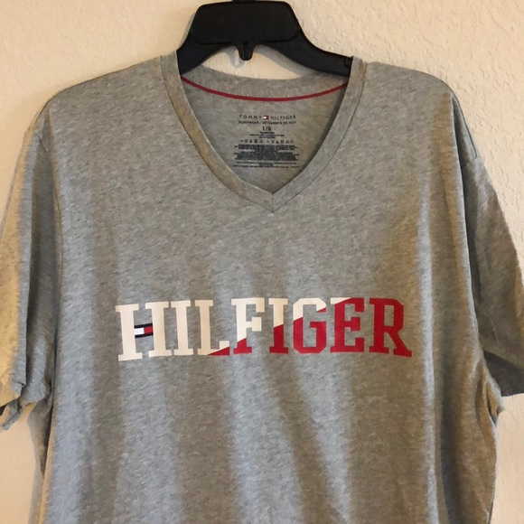 bf07e7691 T-Shirts Tommy Hilfiger T-shirt Mens Crew Neck Pocket Tee Flag Logo Short  Sleeve New Nwt